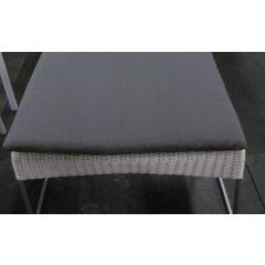 Cushion Grace ottoman alu grey Max&Luuk
