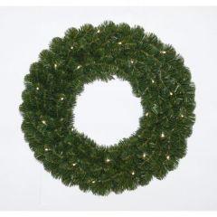 Alaskan Pine krans 50 cm met warm LED Holiday Tree
