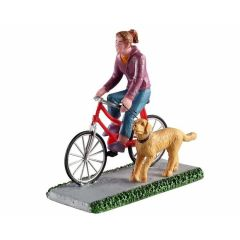 A ride and a walk kerstfiguur LEMAX