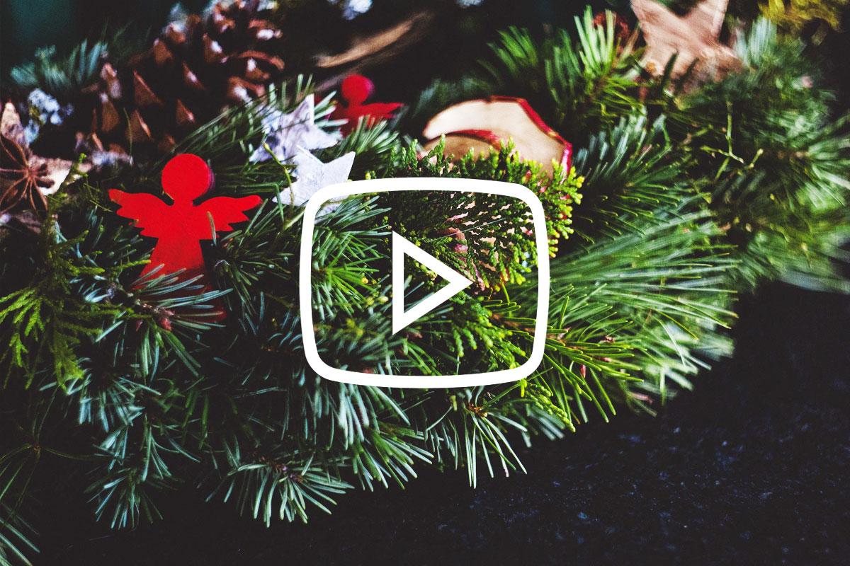 Eenvoudig een kerststukje maken